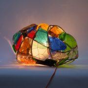 Photo de lampe en verre recyclé de Vincent Girard